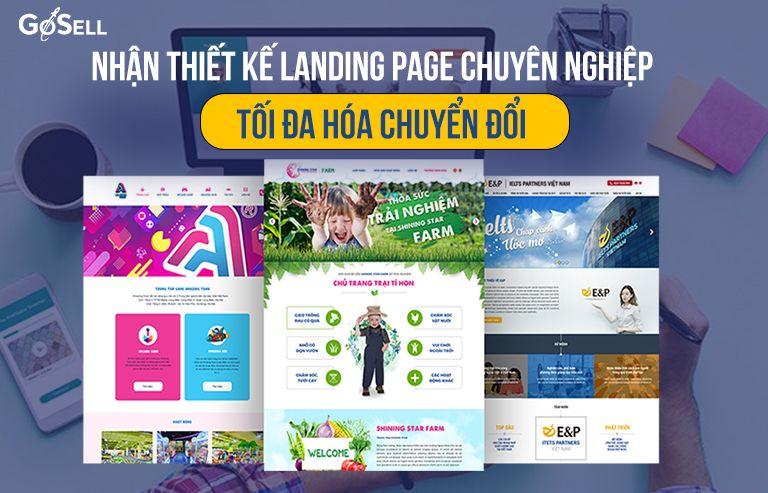 Nhận thiết kế Landing Page