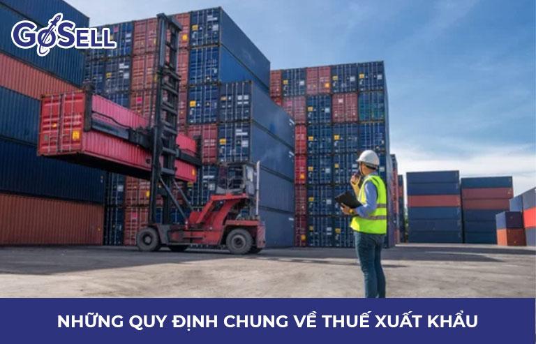Xuất khẩu hàng hóa chịu thuế gì 3