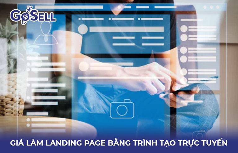 Giá làm landing page online