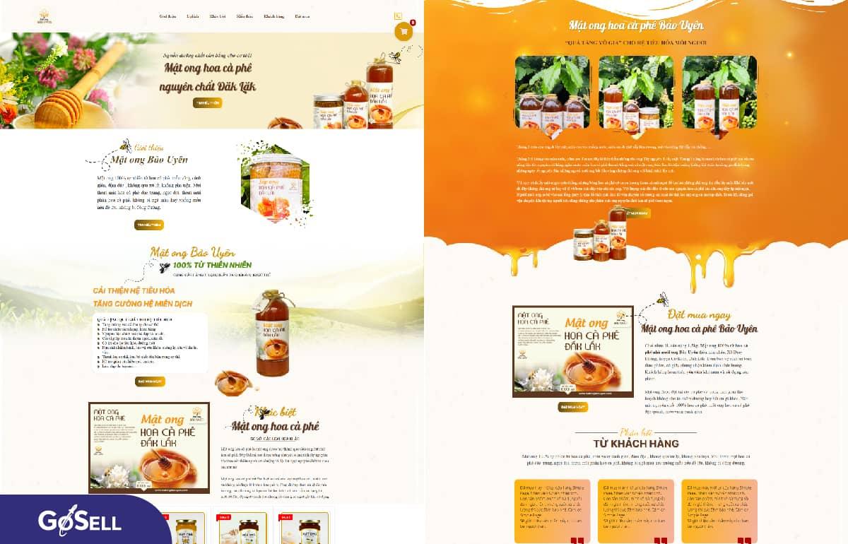 Landing page thực phẩm chức năng 6