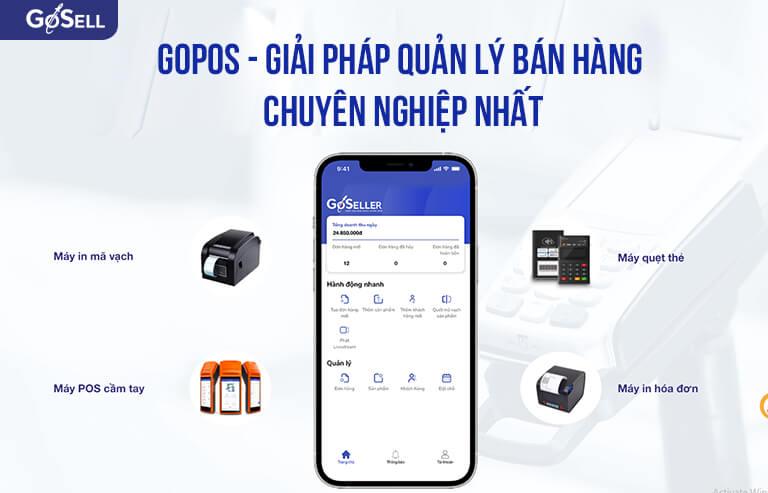 GoPOS - Giải pháp quản lý bán hàng chuyên nghiệp nhất