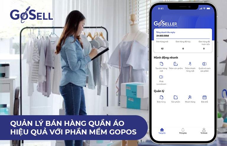Quản lý bán hàng quần áo hiệu quả với phần mềm GoPOS