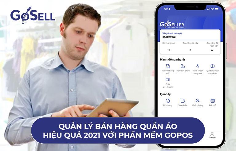 Quản lý bán hàng quần áo hiệu quả 2021