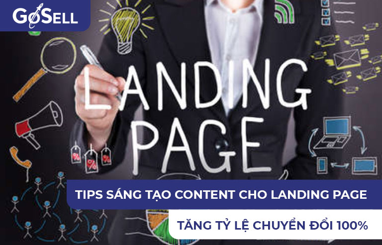 Tips sáng tạo content cho landing page