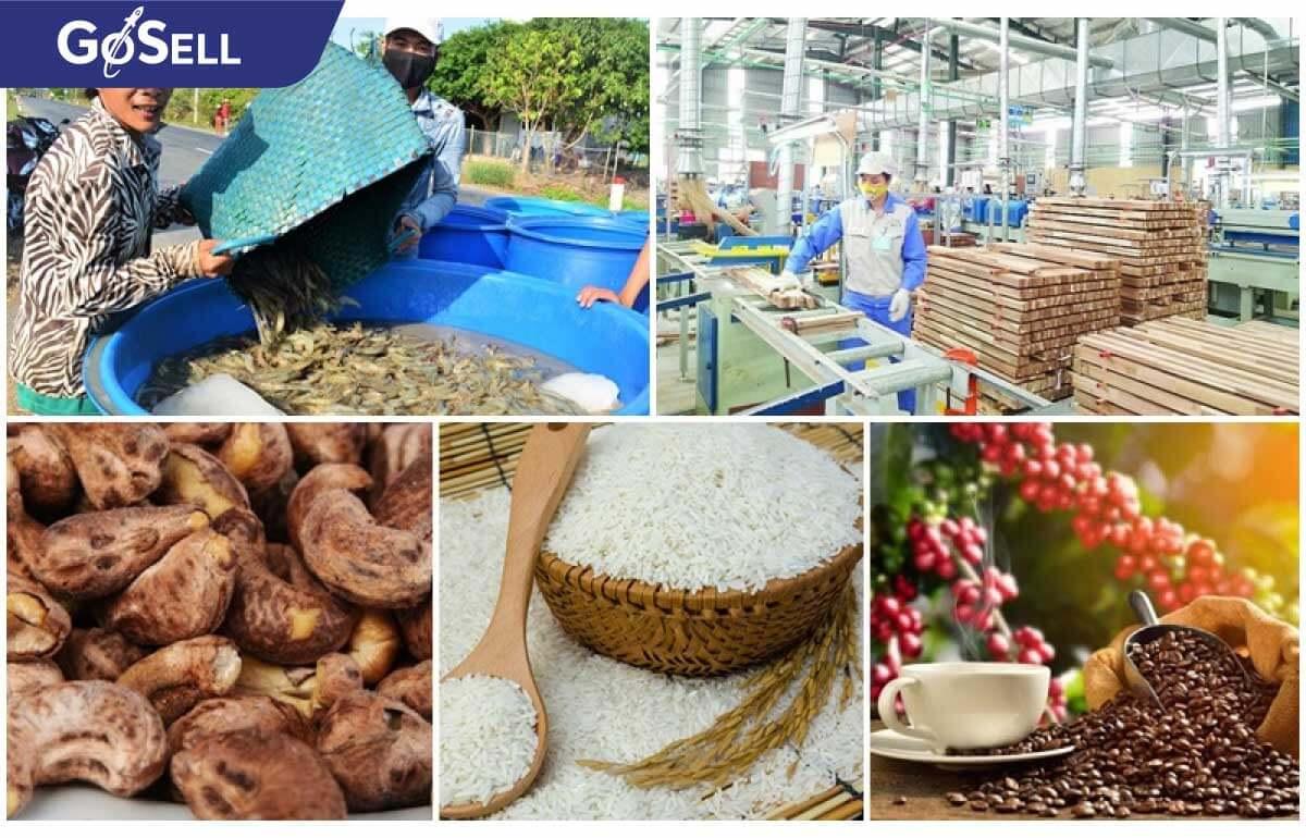 Những mặt hàng xuất khẩu chủ lực của Việt Nam sang Đài Loan