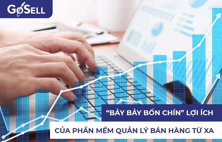 Phần mềm quản lý bán hàng từ xa