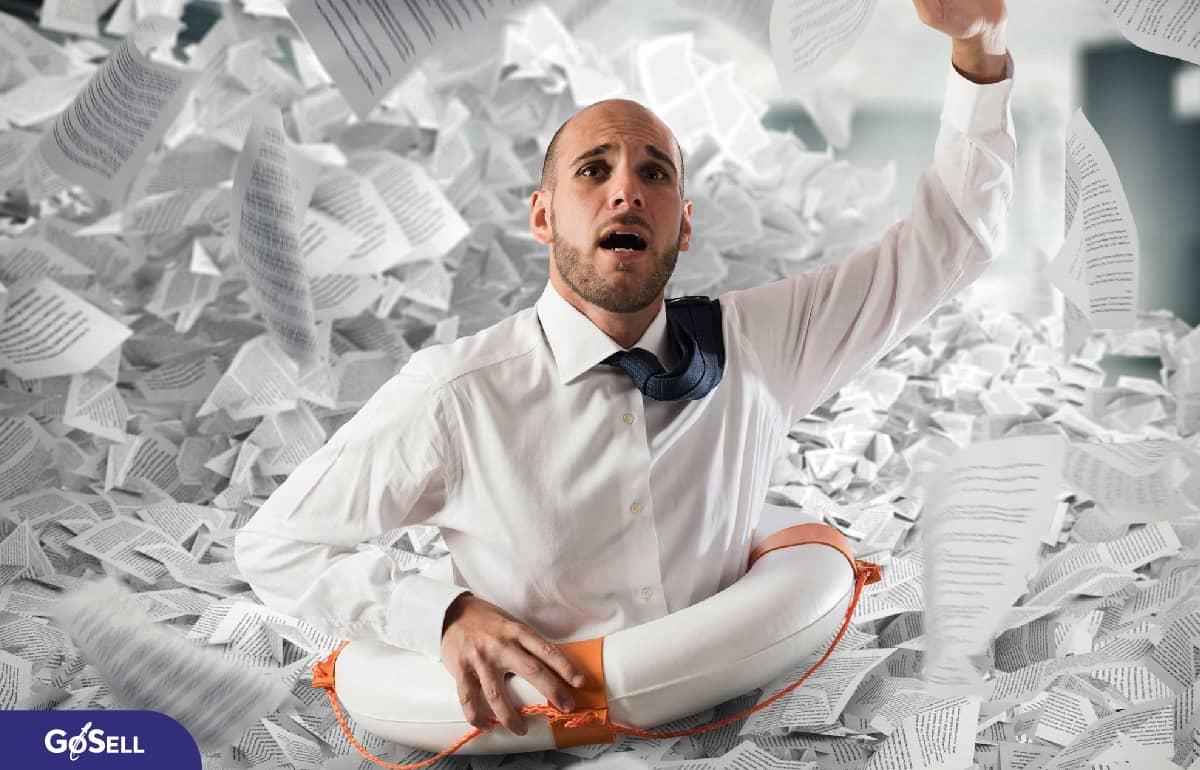 Giảm thủ tục giấy tờ với phần mềm tính tiền online