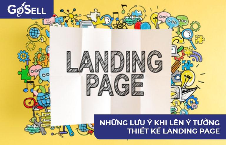 Ý tưởng thiết kế Landing Page 1