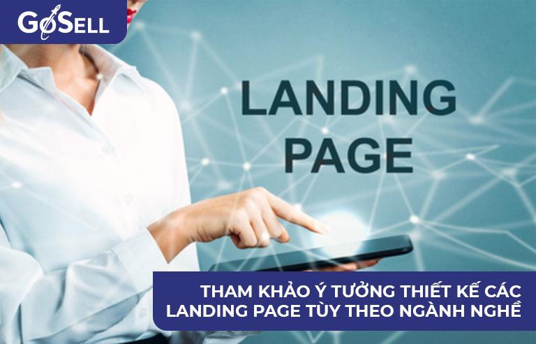 Ý tưởng thiết kế Landing Page 2